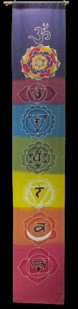 Large Chackra Banner